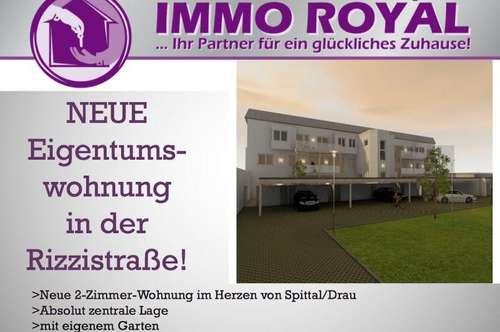 Neue Gartenwohnung im Zentrum von Spittal/Drau! TOP 1.