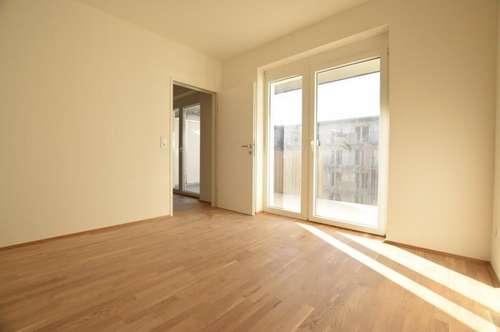 Puntigam - Brauquartier - Erstbezug - 35m² - 2 Zimmer - Singlewohnung - großer Balkon