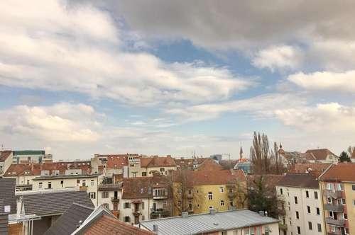 Maisonettewohnung mit großer Dachterrasse - ideal für 3er WG