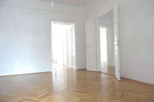 1140 wunderschöne 131m² Jugendstilmiete 4 Zimmer , Wintergarten, Topküche, kleiner Balkon, sonnige ruhige Lage