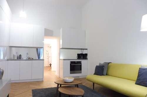 Top sanierte 2 Zimmer Altbauwohnung am Rochusmarkt! Komplett möbliert!