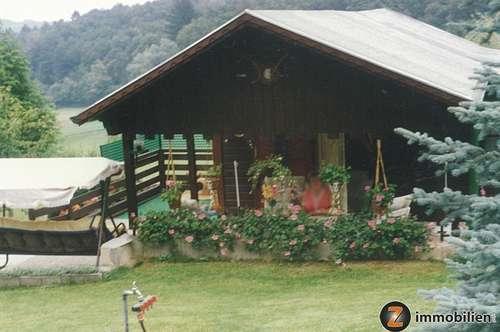 Nähe Güssing: Wochenendhaus mit Obstgarten