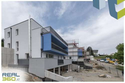 """Kurz vor Fertigstellung! Wunderschöne 4-Zimmer-Neubaumaisonette """"ALPENBLICK"""" mit Balkon, Dachterrasse und Garten! TOP 8"""