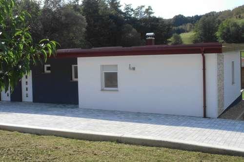 Neugebaute Doppelhaushälfte, Ruhelage