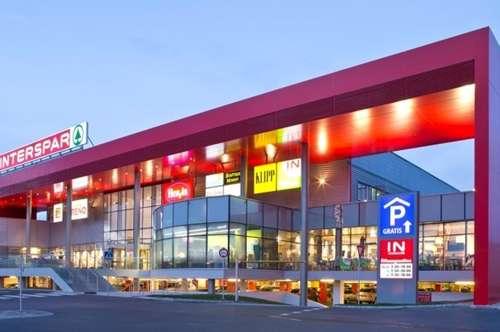 Einzelhandelsfläche in einem modernen Einkaufscenter