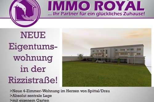 Neue Gartenwohnung im Zentrum von Spittal/Drau! Erdgeschoss TOP 3,