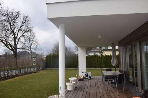 AN DER SALZACH AIGEN / PARSCH: Exklusive 4-Zimmer-Garten-Wohnung mit traumhafter Terrasse