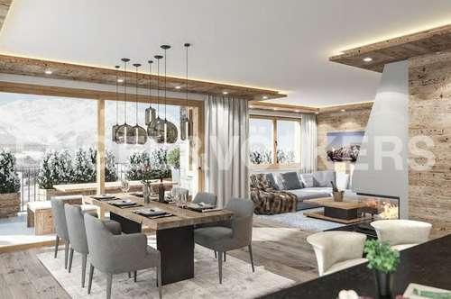 W-02BZN6 Neubau: Wohnungen an der Skipiste mit Ausblick