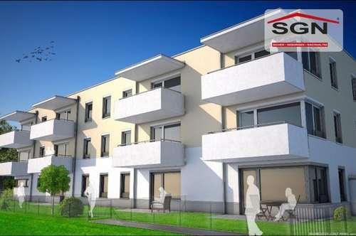 Erstbezug geförderte 4- Zimmer Mietwohnung mit Balkon und Parkplatz