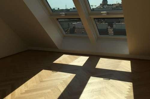 Skyliving / Hoch leben - DG-Apartments beim Augarten - provisionsfreier Erstbezug