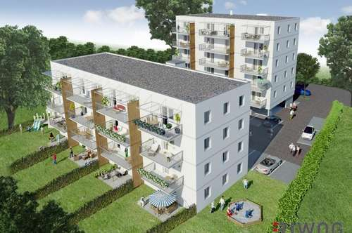 Gut geschnittene 3-Zimmer-Wohnung mit Südbalkon