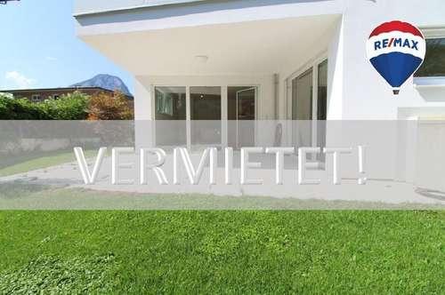 VERMIETET: Neuwertige 2-Zi-Gartenwohnung in sehr guter Lage zu mieten