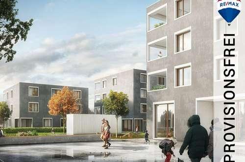 NEUBAU: Herrliche 3 Zimmer Wohnung im Dachgeschoss