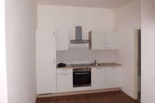 Nette Zweiraumwohnung mit möblierter Küche im Zentrum von Wels Nähe Fachhochschule