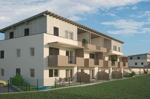 Wohnanlage Zentrum Gilgenberg - hier entstehen 22 moderne, barrierefreie Wohnungen in wunderschöner Aussichtslage!