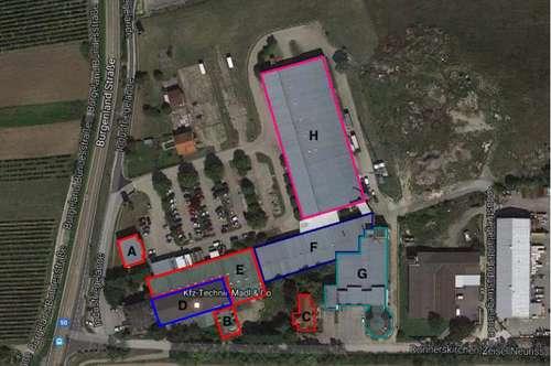 10m2 Ab 25€ Netto/Monat! 1500m2! Industriegelände Donnerskirchen! Lager, Werkstatt, Büro, Geschäft!