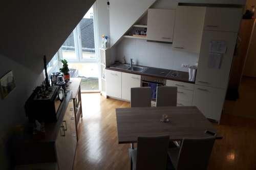 Nette 3 Zimmer Maisonette VOLL MÖBLIERT in Ruhelage im Zentrum von STOCKERAU