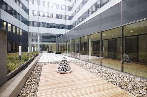 Schöne Büroflächen im Bürohaus Wieden