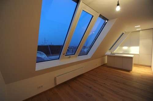 Repräsentative Dachgeschoß-Wohnung im 3. Bezirk zu vermieten, 3 Zimmer