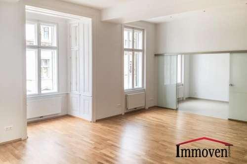 Wunderschöne und sanierte Altbauwohnung in sehr guter Wohnlage nahe Mariahilfer Straße