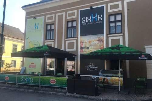 Café-Bar-Lounge direkt am Hauptplatz