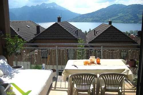Spektakuläre Wohnung in Steinbach am Attersee mit See- und Gebirgsblick