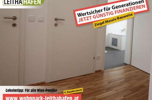 Haus 26! Doppelhaushälfte im Wohnpark Leithahafen! -wpls