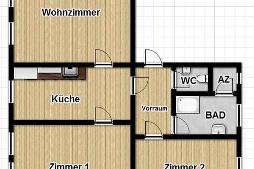Sanierte 3 Zimmer Wohnung Nähe Hauptbahnhof!