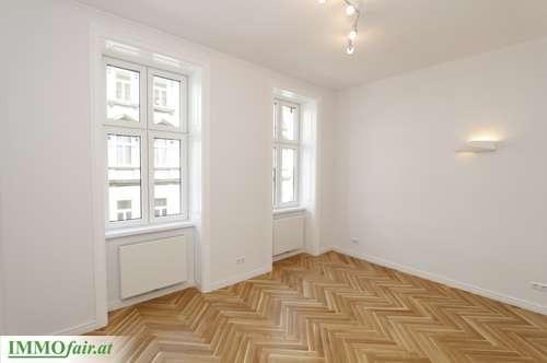 Heimelige Stilaltbaugarçonnière mit separater Küche Nähe AKH - (Top 21 - 3.Stock - 40m² - € 220.000,-)