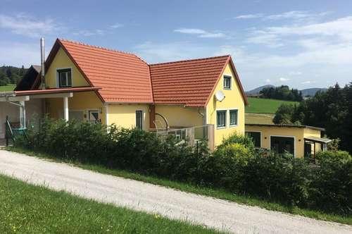 Rechberg, 2 Häuser mit 2 getrennten Wohneinheiten, parifiziert, Garten und herrlicher Ausblick