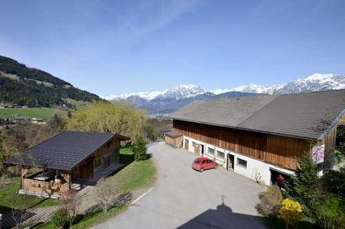 Schicke Wohnung im Bauernhaus in traumhafter ruhiger Lage als Zweitwohsitz/Freizeitwohnsitz - Nähe Schwaz