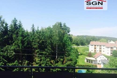*Reserviert* Wohnen im Luftkurort Gallspach - 3 Zimmer Wohnung mit traumhaften Balkon!