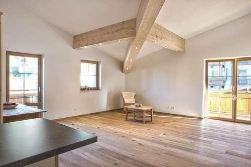 Dachgeschosswohnung in idyllischer Lage - an der Skipiste