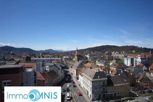 Über den Dächern von Klagenfurt ! 3-Zimmerwohnung mit SUPERAUSSICHT !!