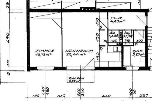 Helle - Wohnung mit ca. 55 m² + Balkon - nähe Plus City, Im Grenzwinkel