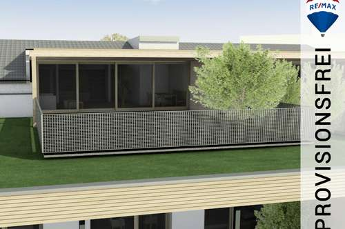 Neubau   3 Zimmer Dachgeschoss-Wohnung mit ca. 71 m² Dachterrasse - hier thronen Sie über dem Walgau