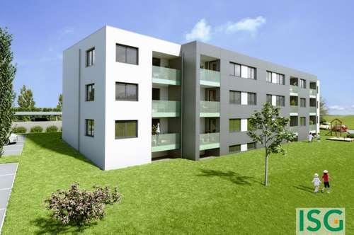 Schärding: Neubau, Attraktive 3-Zimmer-Wohnung in Miete