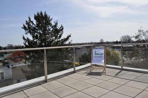 Sonnige Terrassewohnung - 88m² mit 40m² Terrasse! Top Lage! 4 Min. zu Fuß zur Alten Donau!