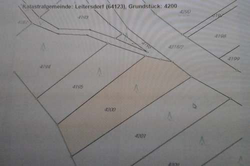 Waldgrundstück in Gem. Bad Waltersdorf