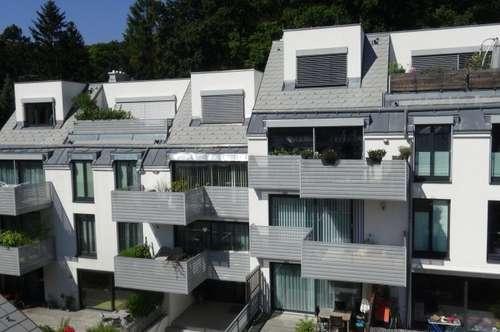 BLICK IN DEN WIENERWALD 3-Zimmer-Wohnung mit südseitigem BALKON inkl. GARAGENPLATZ und Heizkosten