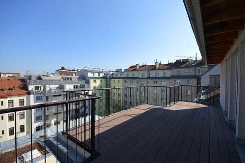 TERRASSEN-HIT!! Grosse DG-Maisonette-Wohnung mit 26 m² Terrasse!