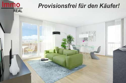 PROVISIONSFREI! PENTHOUSE! 44m² Terrasse! Neubau-Wohnungen in Werndorf!