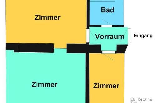 2 Zimmer Mietwohnung Nähe Bulgariplatz