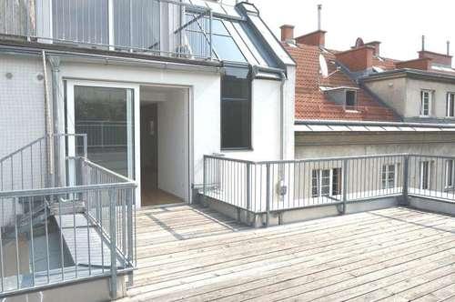 Herrliche Drei-Zimmer-Dachgeschoßwohnung mit zwei Terrassen - Miete 1030 Wien