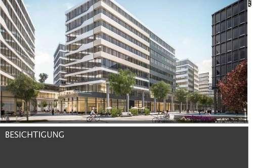 neue Geschäftsflächen 140 m² bis 1.200 m² beim Hauptbahnhof Wien