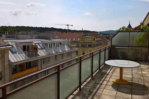 Sonnige Vierzimmerwohung mit 2 großen Terrassen