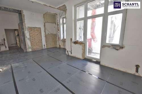 Rundum saniertes, traumhaftes Altbauhaus + Hofseitige Loggia! Große Altbauwohnung mit perfekter Raumaufteilung! Beste Infrastruktur + Ideale Anbindung!