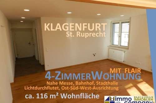 Moderne, komfortable 4-Zimmer-Stadtwohnung mit Penthouse-Flair