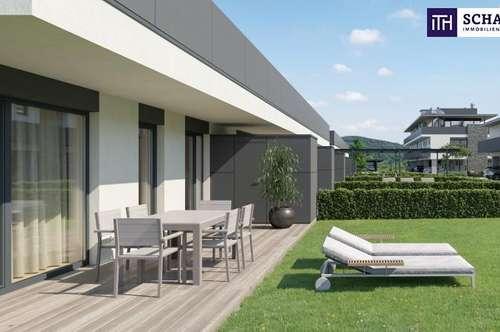 ITH LEBENSWERT! IDEAL eingeteilte und helle GARTENWOHNUNG ca. 48 m² mit schönen EIGENGARTEN im ZENTRUM von FELDBACH