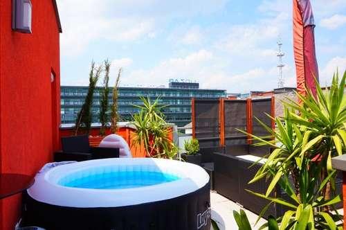Schöne 2 Zimmerwohnung mit großer Terrasse in Linz! Inkl. TG!